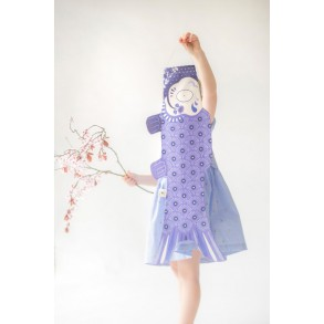 madame mo koinobori lavande carpe koi  kodomo no hi fête des enfants au japon