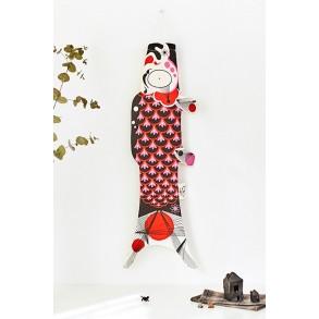 koinobori Marine Madame Mo, carpe koi offerte lors de kodomo no hi. Idée cadeau original, éthique et écologique