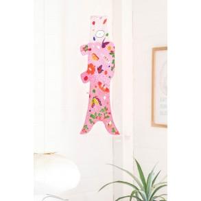 décoration chambre d'enfant, koinobori Papillons Madame Mo