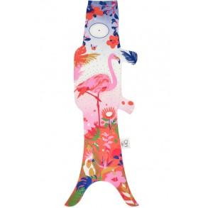 Madame Mo Carpe Koi Flamingo, porte-bonheur japonais