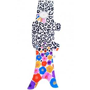 Koinobori  Madame Mo Leopard, objet de décoration chambre d'enfant