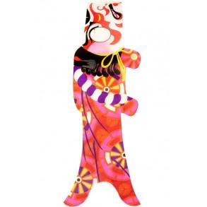 Koinobori Madame Mo Kabuki Samouraï, idée cadeau inspiration Japon