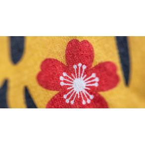 Zoom sur la manche à air Tigre, objet de décoration d'inspiration japonaise Madame Mo