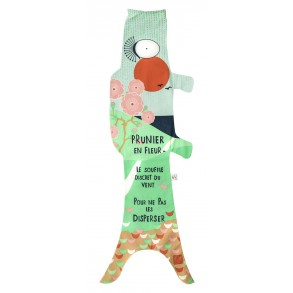 Koinobori manche à air en forme de poisson carpe, haiku poésie japonaise
