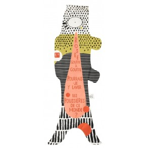 Japanese windsock, Haiku theme, gift for kids