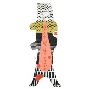 manche à air japonaise madame mo en forme de carpe