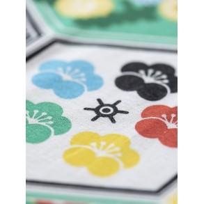 Zoom on koinobori Olympics Mini, Japanese windsock